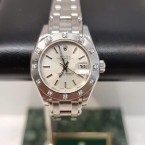 Rolex date just pearlmaster